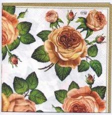 Decoupage Paper Art Napkin | Sentimental Roses