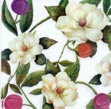 Paper Napkins Romantic Magnolias