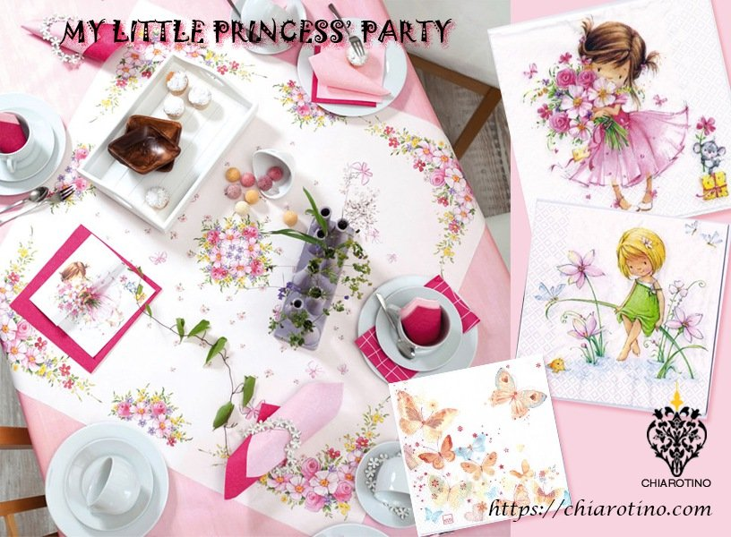 Littlie princess-table deco