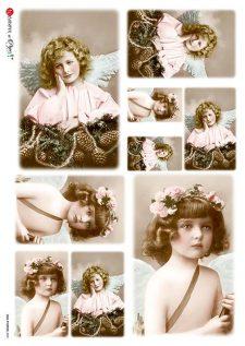 pink angel girls