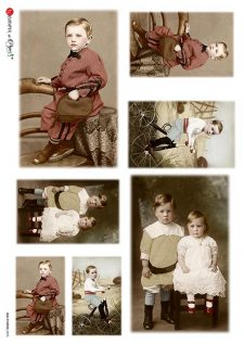 vintage boy/children