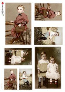vintage boy/children