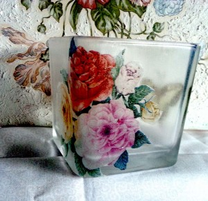 candle-holder-napkin-decoupage-roses