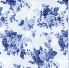 Paper Napkins Winsome Blue Roses
