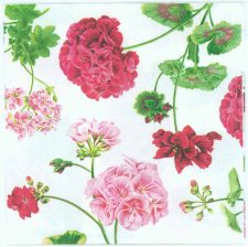 Decoupage Napkins of Gorgeous Geraldine Roses