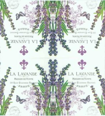 Decoupage Napkins of Paris Lavender