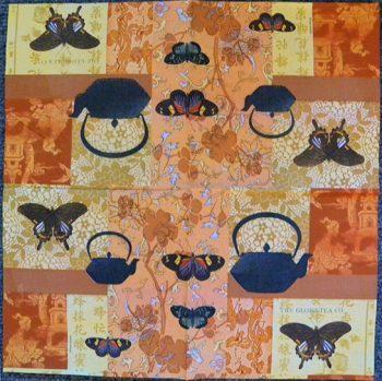Decoupage Paper Art Napkin | Tea and Butterflies