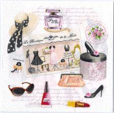 Decoupage Paper Art Napkin | Haute Couture