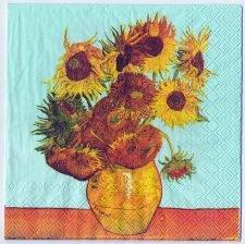 Decoupage Paper Art Napkin | Van Gogh's Sunflowers