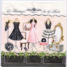Decoupage Paper Art Napkin | La Boutique de la Mode