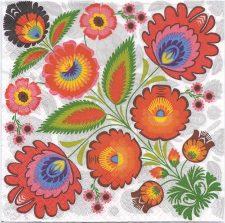 Decoupage Paper Art Napkin | Shower of Flowers