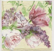 Decoupage Paper Art Napkin | Garden Roses