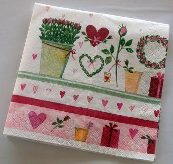 Decoupage Paper Art Napkin | Growing Love