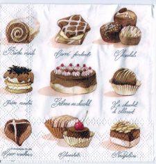 Decoupage Paper Art Napkin | Chocolate Sweets