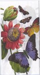 Decoupage Paper Art Napkin | More Butterflies and Flowers