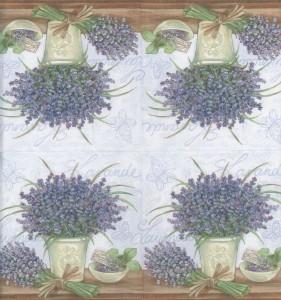 Decoupage Paper Napkins | Lavender Flowers | Lunch Napkins | Floral Napkins | Lavender Napkins | Paper Napkins for Decoupage