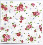 Decoupage Paper Art Napkin | A Multitude of Roses | Design Paper Napkins for Decoupage