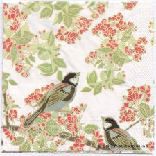 Decoupage Paper Napkins | Blossoms and Birds | Paper Napkins for Decoupage