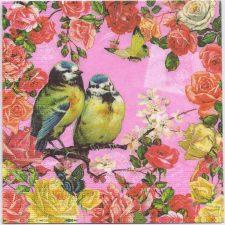 Decoupage Paper Napkins | Birds Roses Butterflies | Paper Napkins for Decoupage