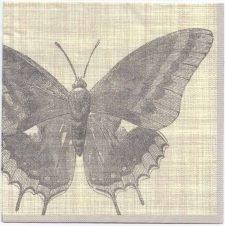 Decoupage Paper Napkins | Botanical Butterfly | Paper Napkins for Decoupage