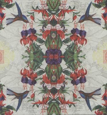 Decoupage Paper Napkins | Honeysuckle Flowers and Hummingbirds | Bird Napkins | Floral Napkins Napkin Decoupage Paper Napkins for Decoupage