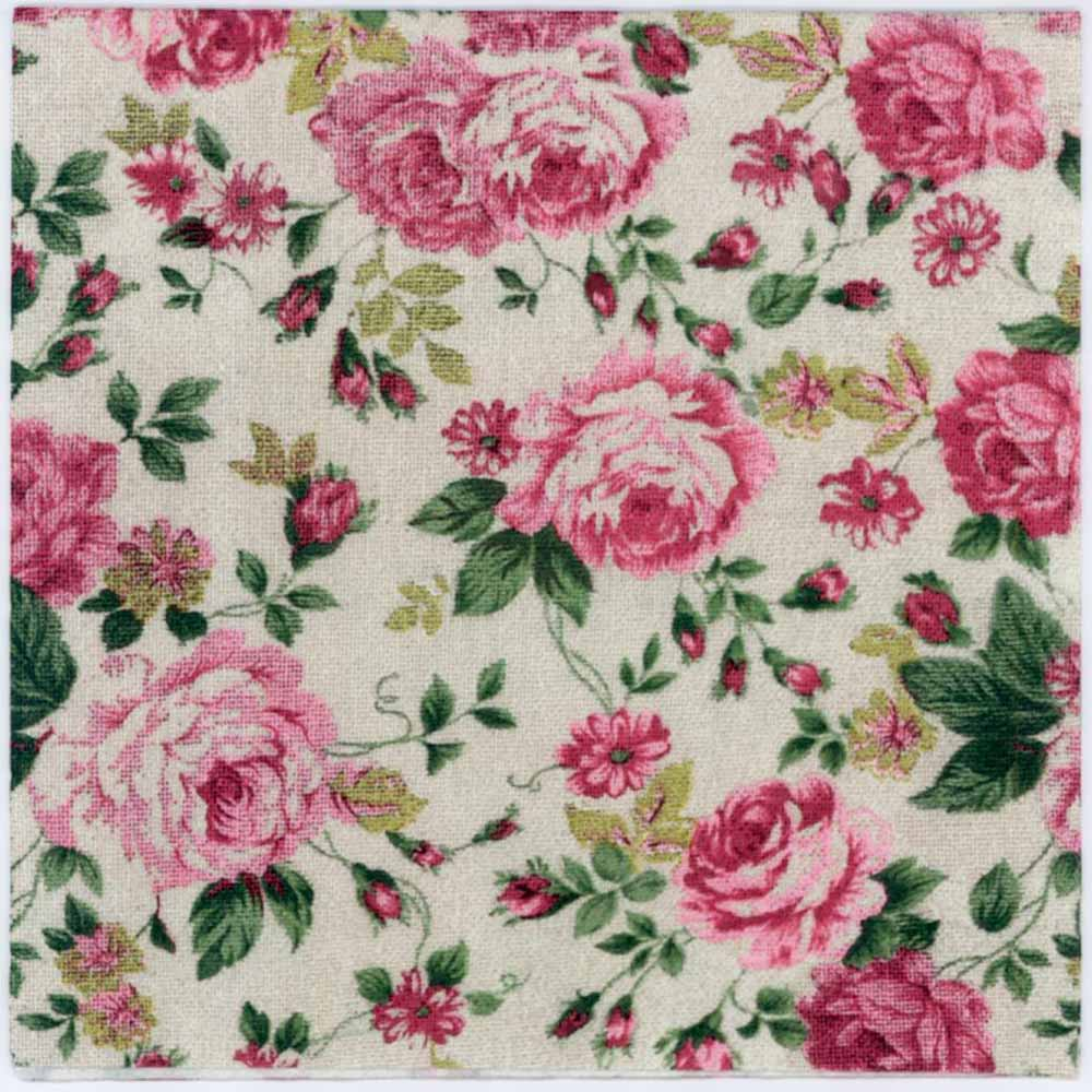 Decoupage Napkins Pink Roses On A Fabric Texture Rose Napkins