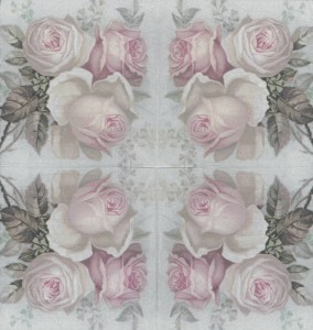Decoupage Paper Napkins | Large Pastel Rose Bouquet | Rose Napkins | Floral Napkins | Romantic Napkins | Paper Napkins for Decoupage