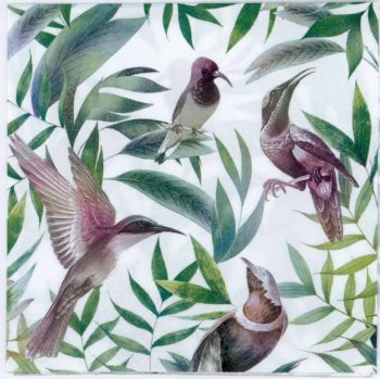 Paper Napkins Tropical Birds Hummingbird