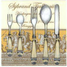 Decoupage Paper Napkins | Silverware Forks Knives Spoons| Party Napkins | Lunch Napkins | Paper Napkins for Decoupage