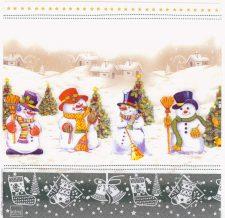 Decoupage Paper Napkins | Christmas Snowman Collection Christmas Trees Winter Snow| Christmas Napkins | Paper Napkins for Decoupage