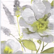 Decoupage Paper Napkins | Vintage Grand Rose in Watercolor | Paper Napkins for Decoupage