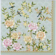 Event Paper Napkins Palace Garden Peonies