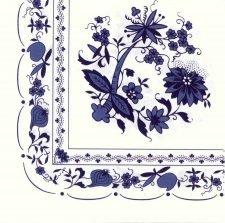 Decoupage Napkins | Tea Napkins | Zwiebelmuster(Blue Onion) Porcelain Pattern | Paper Napkins for Decoupage