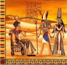 Decoupage Paper Art Napkin | Ancient Egypt 1