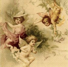 Decoupage Napkin |Fairies at Play |Fairy Napkins | Paper Napkins for Decoupage