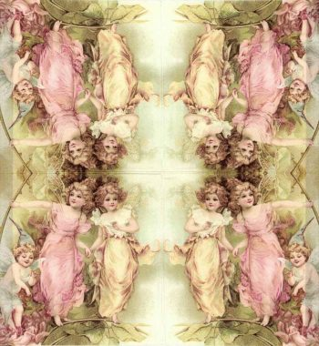 Decoupage Napkin |Garden Fairies at Play|Fairy Napkins |Paper Napkins for Decoupage