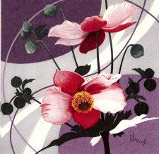 Poppies by Franz Heigl | Poppy Napkins | Flower Napkins | Decoupage Paper Napkins 1