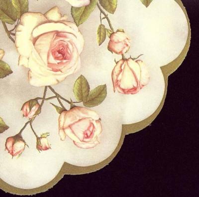 Round Paper Napkins | Pastel Roses |Rose Napkins | Decoupage Paper Napkins 2