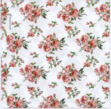 Decoupage Napkins of Romantic Victorian Roses | Paper Napkins for Decoupage