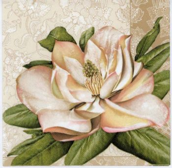 Decoupage Napkins of Romantic Pastel Rose | Paper Napkins for Decoupage