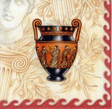Decoupage Napkins of Classical Greek Vases | Art Napkins for Decoupage