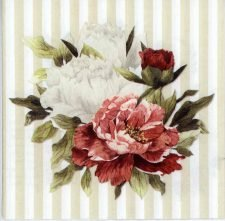 Decoupage Paper of Love Letter from Paris   Paper Napkins for Decoupage