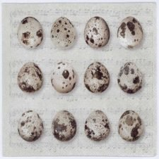 Decoupage Napkins of Quail Eggs | Paper Napkins for Decoupage