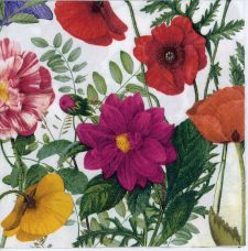 Decoupage Paper Napkins of Wild Roses in Spring   Paper Napkins for Decoupage