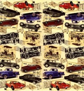 Decoupage Napkins | Vintage Car Napkins | Classic Cars |Paper Napkins for Decoupage