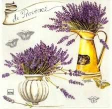 Decoupage Napkins |Lavender Napkins | Provence Lavender |Paper Napkins for Decoupage