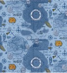 Decoupage Paper Napkins of a Vintage Map of the Seas | Paper Napkins for Decoupage