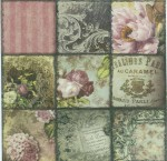Vintage Paris|Belle Epoque Napkins | Paper Napkins for Decoupage