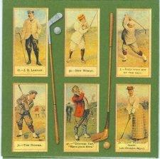 Golf Napkins|Vintage Golfing | Paper Napkins for Decoupage