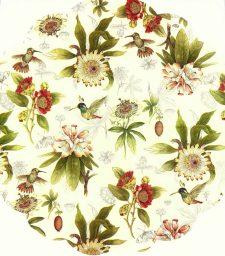 Decoupage Napkins | Round Paper Napkins |Hummingbird Flower Garden | Paper Napkins for Decoupage